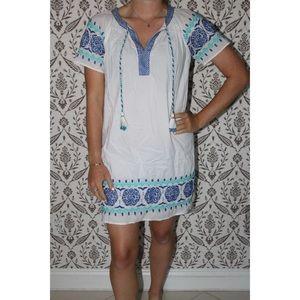 Vineyard Vines Sea Spray Tassel Dress • Size XXS